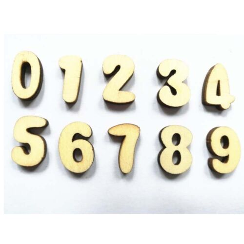 Lot Wooden Wood 200pcs English Letters Number wedding Birthday Party Home Decor