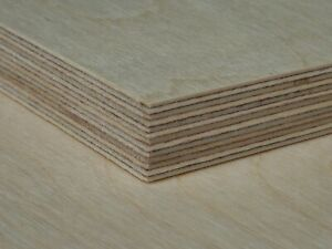 18mm 3//4 12 X 24 Baltic Birch Plywood B//BB Grade Box of 6