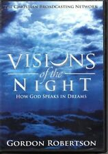 VISIONS OF THE NIGHT HOW GOD SPEAKS IN DREAMS GORDON ROBERTSON DVD NEW SEALED #9