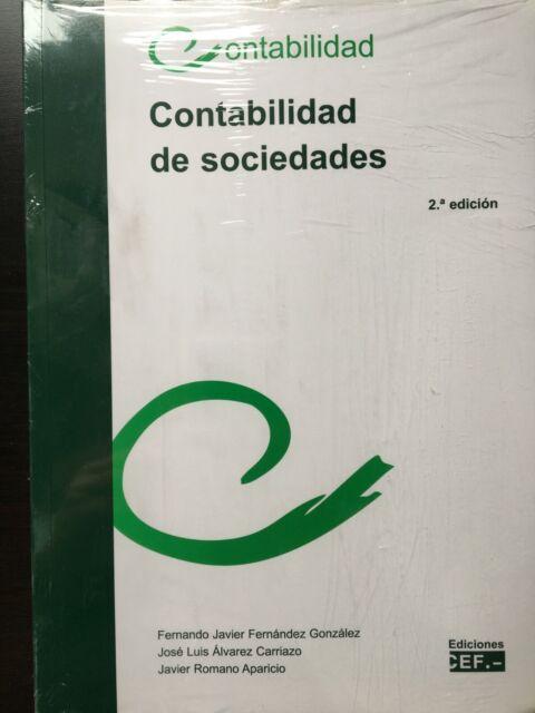 CONTABILIDAD DE SOCIEDADES  2ª EDICIÓN