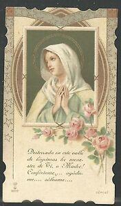 image pieuse ancianne Virgen santino holy card estampa 5YR4tl5i-09104213-544933603