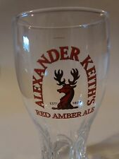 BEER Glass    ALEXANDER KEITH'S Red Amber Ale    Nova Scotia, CANADA Since 1820