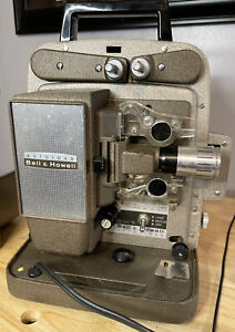 Vintage Bell & Howell 245 PA Autoload Home Movie Projector 8mm - Film Projector
