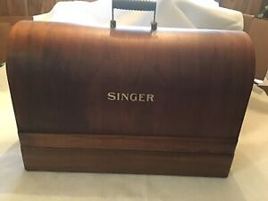 Singer-Sewing-Machine-Bentwood-Case-For-Full-Size-Singer-Machines