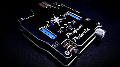 PRE AMP PROJECT POLARIS SS HEADPHONE AMPLIFIER ALUMINUM CNC/'ED CHASSIS!