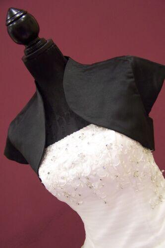 NEU Braut Bolero brautjacke jäckchen Creme Jacke schwarz oder creme