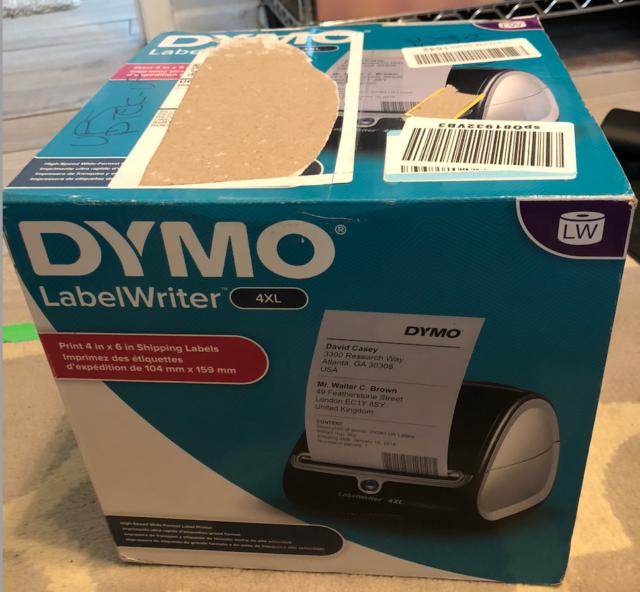 "DYMO LabelWriter 4XL Desktop Thermal Label Printer ebay shipping labels 4x6"" UPS"
