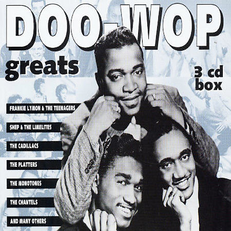 Doo Wop Greats [Box] by Various Artists (CD, Feb-2001, Goldies)