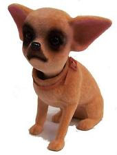 4 STAND UP NOVELTY BOBBING HEAD CHIHUAHUA mexican DOG bobble dogs car dash board