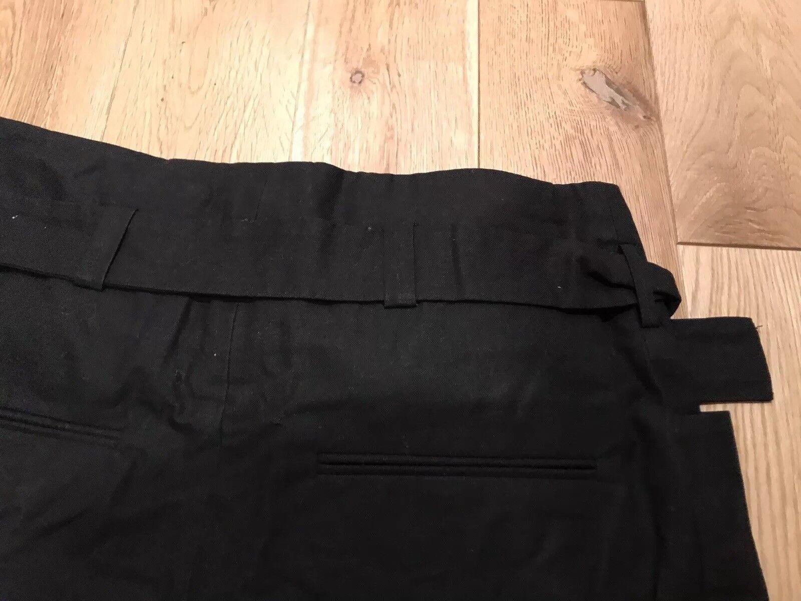 Da Donna Con Allacciatura Al Collo Bikini Set Top pantaloni salmone nero bianco PIZZO TG XXS-M Nuovo