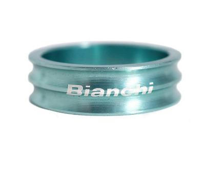 Bianchi Aluminum Head Spacer 10mm Celeste for Road MTB Cross free ship 001