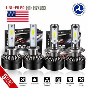 H1-H7-LED-Headlight-Bulb-Hi-Lo-for-Mercedes-Benz-B200-C230-C240-C250-C280-C300