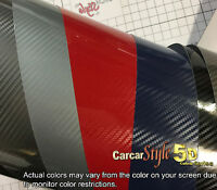 5d Gloss Ultra 【750mm X10meter】carbon Fibre Vinyl Wrap Sticker For Wrapping