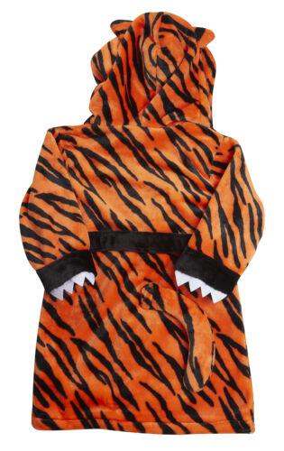 Minikidz Supersoft BABY TIGER STRIPED vestaglia con cappuccio