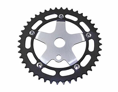 ORIGINAL Lowrider Alloy Chainring 913A 1//2 X 1//8 44t Black//Chrome Bikes BMX