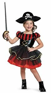 Image is loading Fun-and-Adorable-Halloween-Toddler-Girl-Pirate-Costume  sc 1 st  eBay & Fun and Adorable Halloween Toddler Girl Pirate Costume | eBay