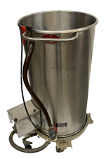 Oscar Fisher 19 X 34 Stainless Steel Tank With Pump
