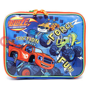 6f950d5f3b49 Details about Nick Blaze and The Monster Machines School Lunch Bag  Insulated Snack Box