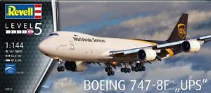 REVELL-KIT-1-144-BOEING-747-8F-034-UPS-034-LUNGHEZZA-52-5-CM-ART-03912