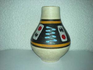 Vase-JASBA-WGP-Mid-Century-50s-60s-Keramik-112-12-TOP