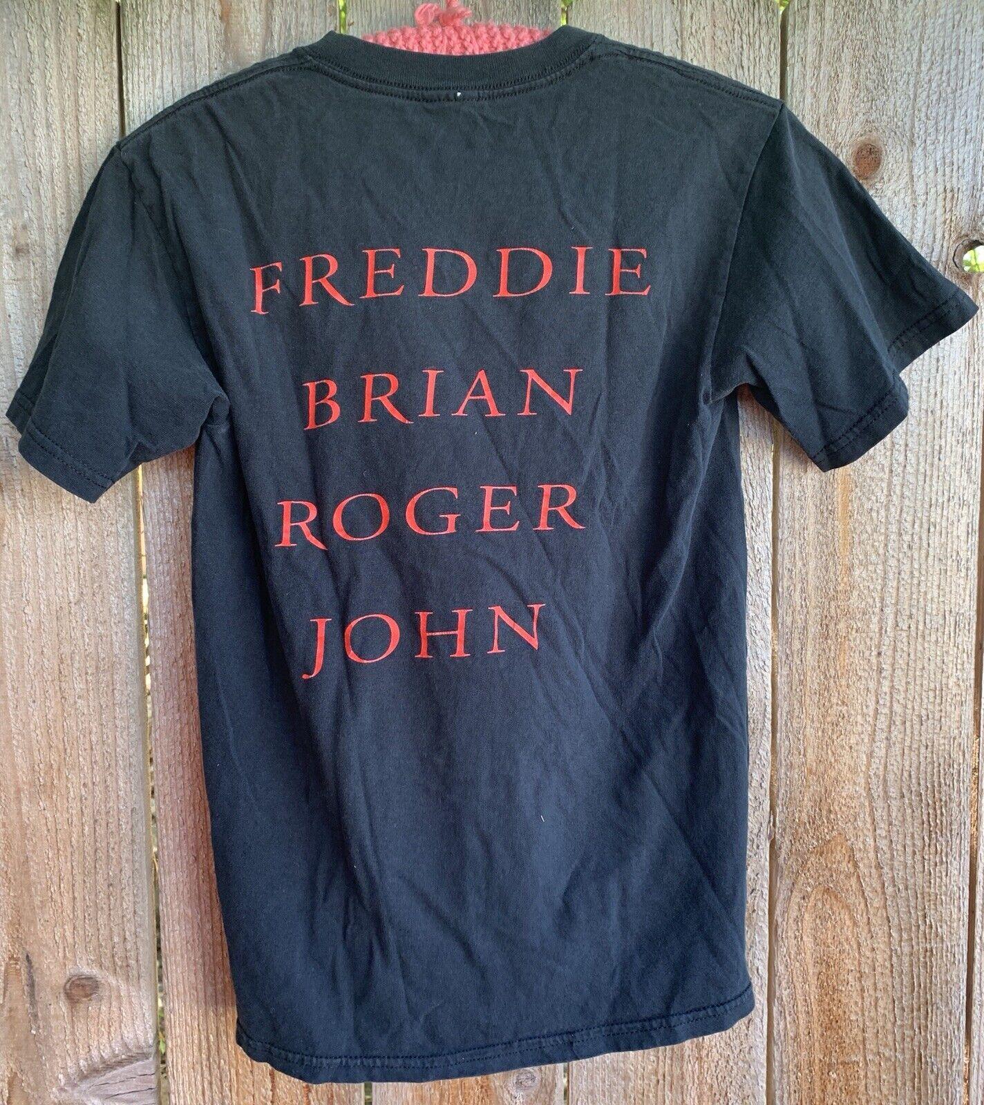 Queen Freddie Brian Roger John T-Shirt Graphics O… - image 6