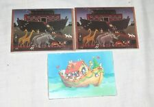 Noah Amp Ark Three Packets Of Postcards New