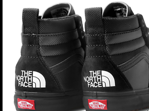 e4de0fb075 NEW The North Face x Vans SK8-HI MTE DX BLACK TNF Collaboration Mens ...