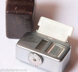 Kodalux L Gossen - West Germany - Includes Leather Case - PARTS - VINTAGE D60