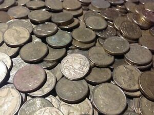 10-Stueck-1-Dollar-Australien-diverse-Jahrgaenge-und-Erhaltungen