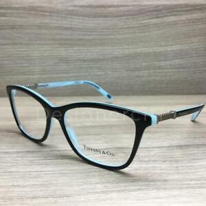 4fd6397d7f8b Tiffany   Co. TF 2116-B 2116 B Eyeglasses Black Turquoise 8193 ...