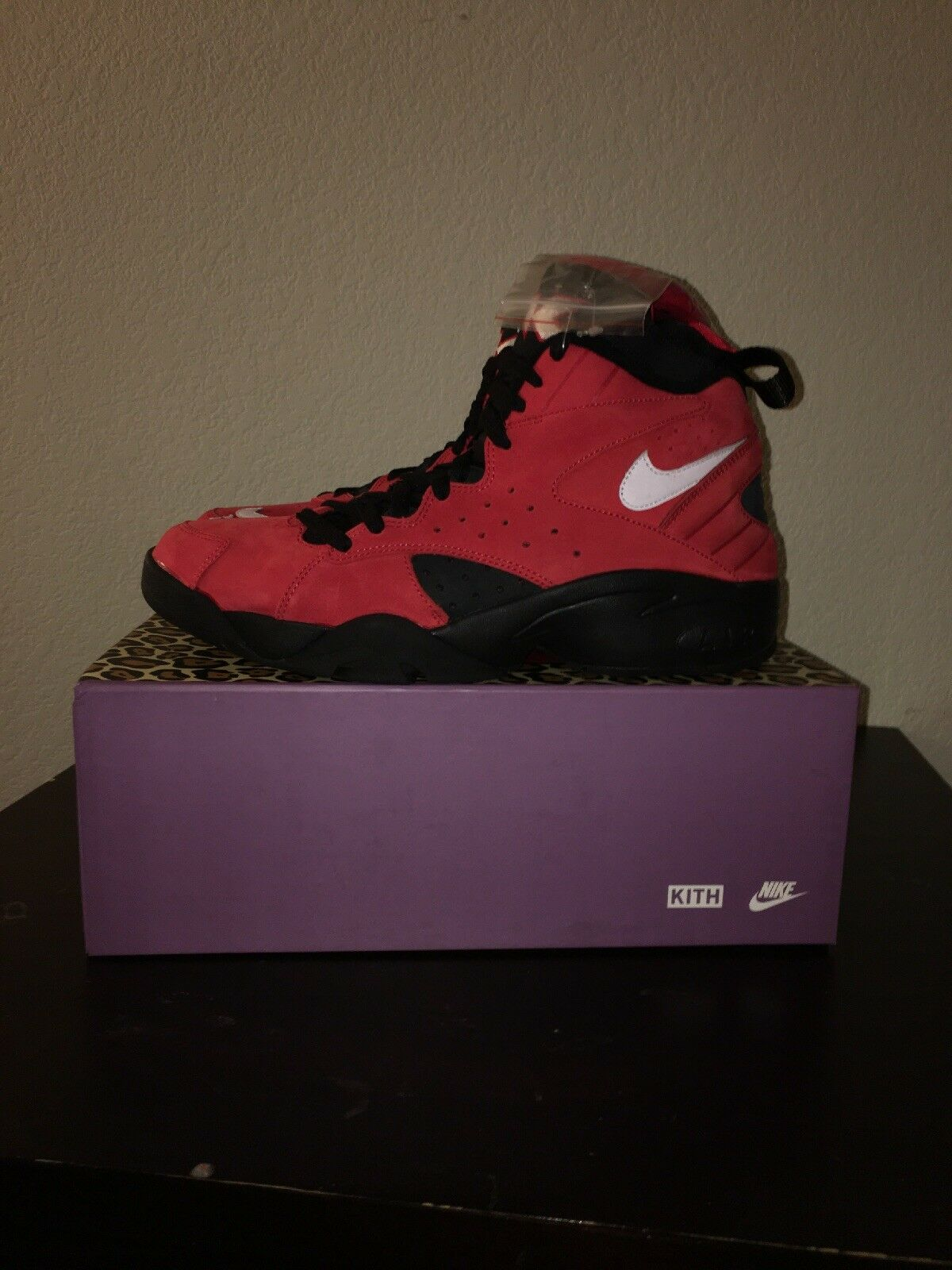 Kith x Nike Air Maestro II High Red Nero Take Flight Size 10.5 New