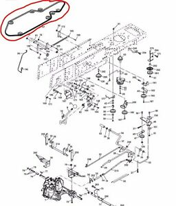 image is loading husqvarna-hydro-transmission-drive-belt -cth1736-cth173-cth174-