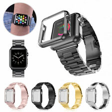 Apple Watch Series 4/3/2/1 Stainless Steel Wrist iWatch Band 38/42mm Case Cover