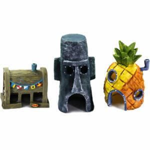 Spongebob-Squarepants-Pineapple-House-Fish-Tank-Aquarium-Ornament-Chic