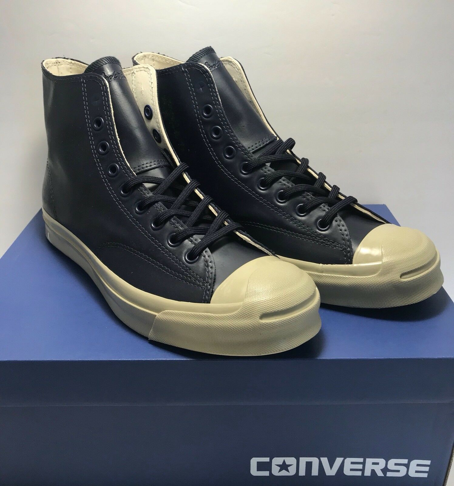 91c21798051340 Converse Mens Size 9 Jack Jack Jack Purcell Signature Hi Rubber Counter  Climate Shoes 0b1430