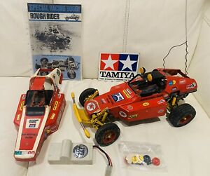 Tamiya-Rough-Rider-chasis-Vintage-RC-Buggy-SRB-Car-5815