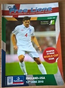 England-v-USA-Free-Lions-Issue-103-World-Cup-2010-Rustenburg-12-06-10