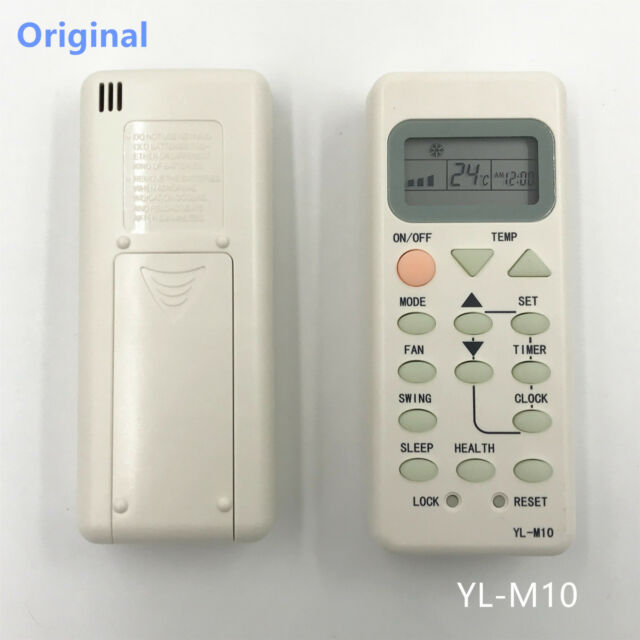 Haier Air Conditioner Remote Control YL M 02 YL M 05 YL M 07 YL M 09 YL M  10 YL M 12