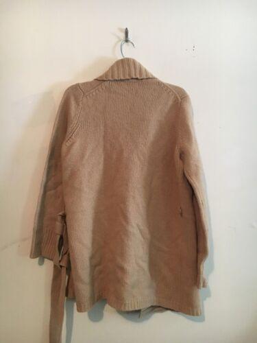basso donna lambswool 100 Maglione in L taglia chiaro marrone lana 6dFwFqP