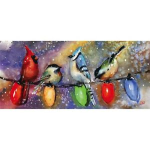 Evergreen Sassafras 2020 Holiday Chirpers Sassafras Mat Insert ! FREE SHIPPING !
