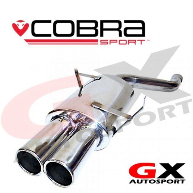 BM24 Cobra Sport BMW 3 Series 323 E46 98-06 Rear Exhaust Back Box