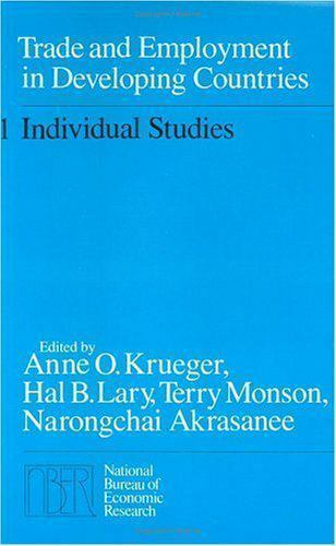 Trade and Employment in Developing Countries Vol. 1 : Individual Studies
