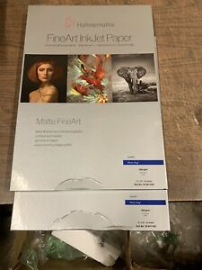 Hahnemuhle-Photo-Rag-308-13-X-19-25-Sheet-Damaged-Box-Inkjet-Paper-Canon-Epson
