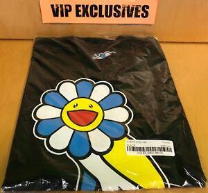 054f97511bb0f6 OVO X Takashi Murakami Owl Flower Tee Shirt Black T-shirt Complexcon ...
