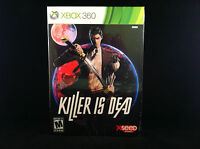 Killer Is Dead (launch Edition) (xbox 360, 2013) Cardboard Box Shipping