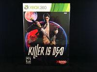 Killer Is Dead (launch Edition) (xbox 360, 2013) Cardboard Box Shipping