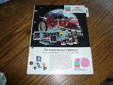 1984 NAPA Martin Senour Paint Colors - AMC Chrysler Ford GM