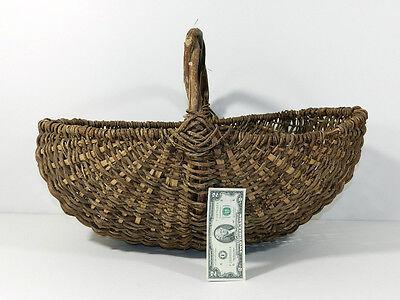Buttocks Buttock Basket Woven Antique Vintage