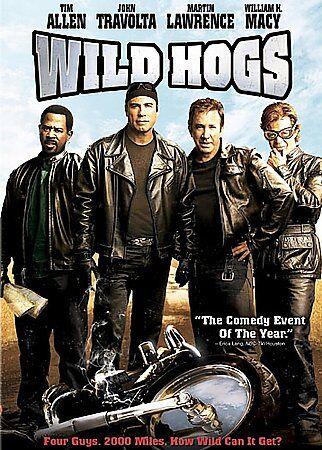 Wild Hogs DVD, 2007 In Case  - $0.99