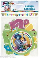 Doodlebops Happy Birthday Banner Party Supplies Room Decorations Disney Pbs